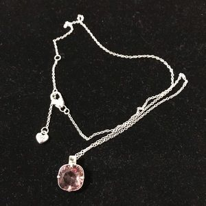 Jewelry - BRIGHTON Pink Huggable Necklace